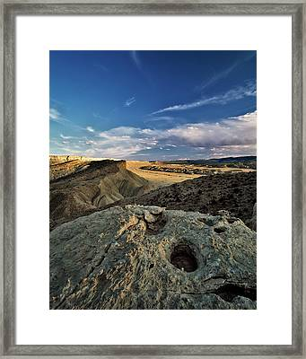Henry Mountain Wsa Framed Print