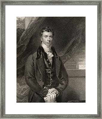 Henry Peter Brougham 1st Baron Brougham Framed Print
