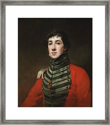 Henry Raeburn Scottish Framed Print by Captain Alexander Dirom