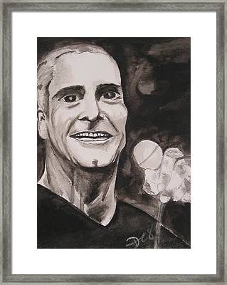 Henry Rollins Framed Print by Darkest Artist