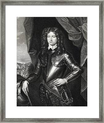 Henry Spencer 1st. Earl Of Sunderland Framed Print