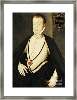 Henry Stewart Lord Darnley Married Mary Queen Of Scots 1565 Framed Print