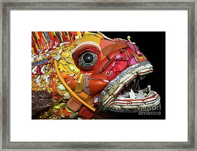 Henry The Fish 2 Framed Print by Bob Christopher
