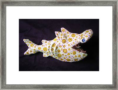Henry The Hammerhead Framed Print by Dan Townsend