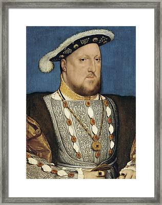 Henry Viii - Hans Holbein The Younger Framed Print