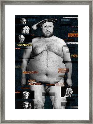 Henry Viii Nude Framed Print