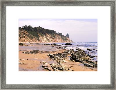 Henry's Beach Framed Print