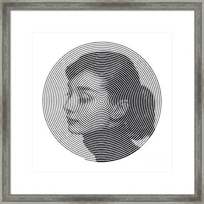 Hepburn Framed Print by Zachary Witt