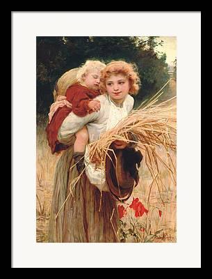 Mother Land Framed Prints