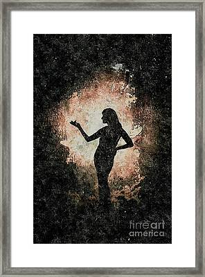 Her Dominion Framed Print by Jacqueline McReynolds