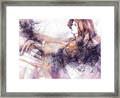 Her Elegance Framed Print by Joan  Jones