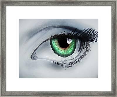 Her Eye Framed Print