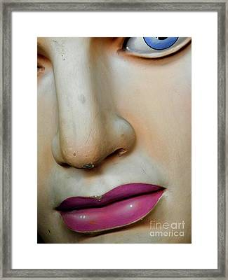 Framed Print featuring the photograph Her Face by Valerie Reeves