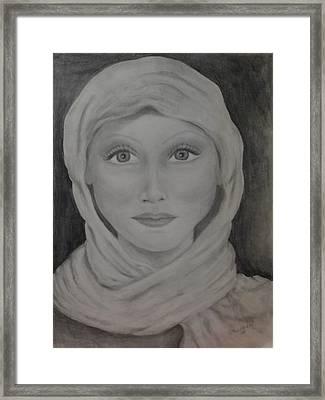 Her Framed Print by Jennifer Hernandez