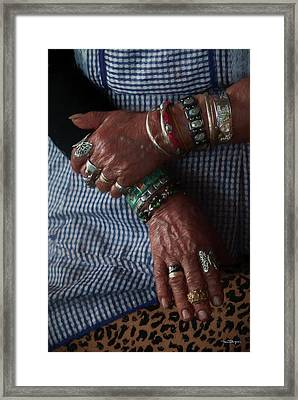 Her Jewelry Framed Print by Travis Burgess