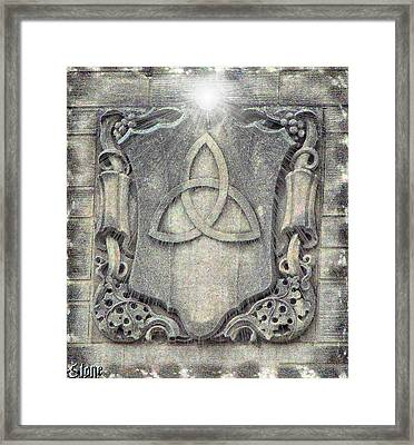 Her Love And Light Will Balance Me Framed Print