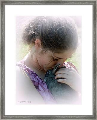 Her Love Framed Print