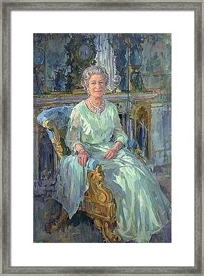 Her Majesty The Queen Framed Print