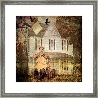 Her Memories Are Written Framed Print by Bellesouth Studio