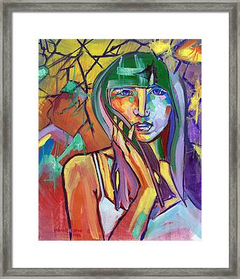 Her No.1 Framed Print