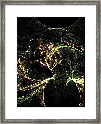 Her Resentments Eternal Self Damnation Framed Print by Rebecca Phillips
