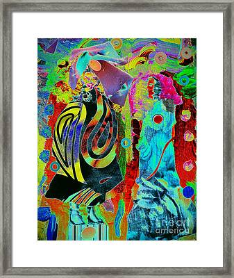 Her Time Has Come Framed Print by Jacqueline McReynolds