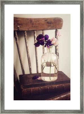 Framed Print featuring the photograph Her Treasures by Amy Weiss