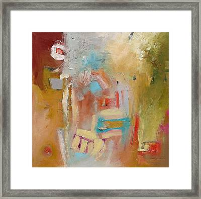 Her Version Of The Truth  Framed Print by Linda Monfort
