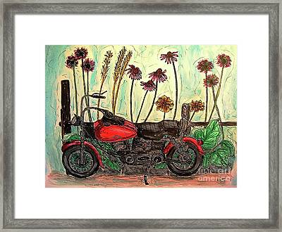 Her Wild Things  Framed Print