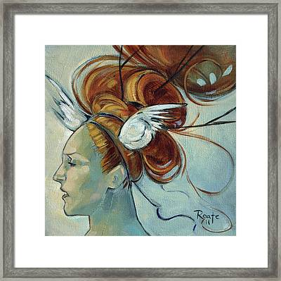 Hera Framed Print by Jacque Hudson