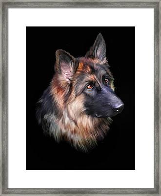 Hera Framed Print by Julie L Hoddinott