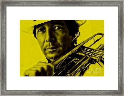 Herb Alpert Collection Framed Print by Marvin Blaine