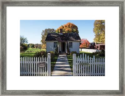 Herbert Hoover Home Framed Print