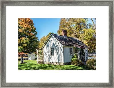 Herbert Hoover House Side Framed Print
