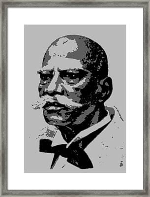 Herbert Macaulay 2 Framed Print by Otis Porritt
