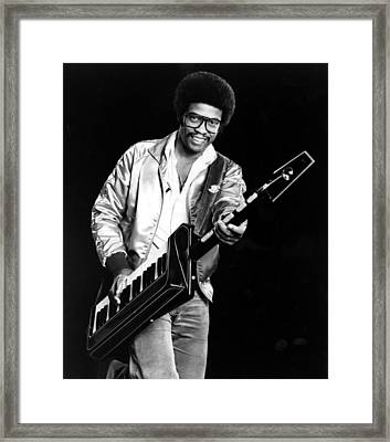 Herbie Hancock, 1980s Framed Print by Everett