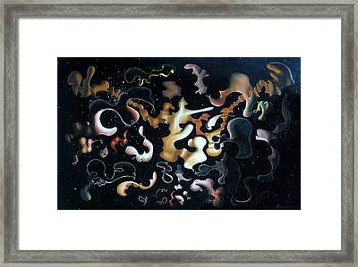 Herculean Construction Framed Print by Dave Martsolf