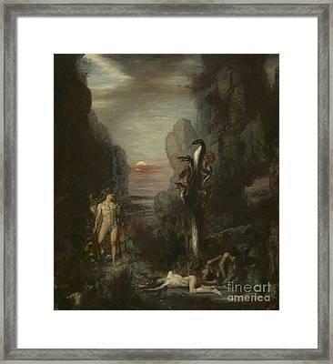 Hercules And The Lernaean Hydra Framed Print