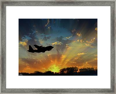 Hercules In The Morning Framed Print
