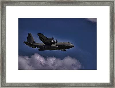 Hercules Framed Print by Martin Newman