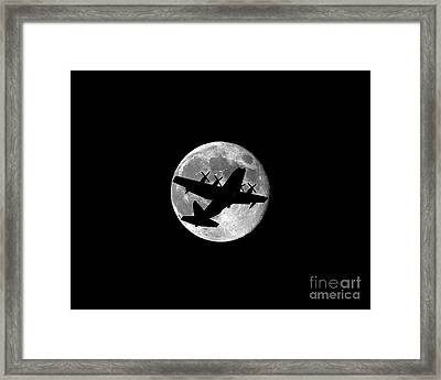 Hercules Moon .png Framed Print by Al Powell Photography USA