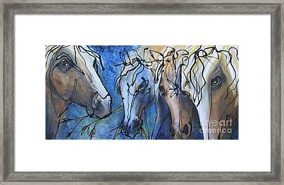 Herd Dynamics Framed Print
