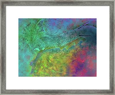 Here Be Dragons 2 Framed Print by Dorothy Berry-Lound