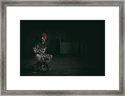 Here Comes Kandy Framed Print by CJ Schmit