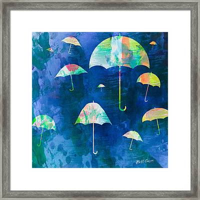 Here Comes That Rainy Day Feeling Again Framed Print by Bill Cannon