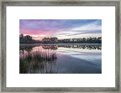 Here Comes The Color Framed Print by Jon Glaser