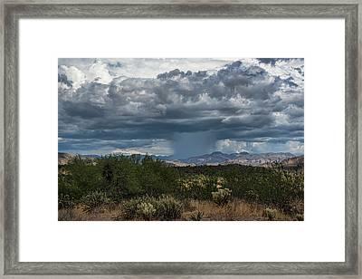 Framed Print featuring the photograph Here Comes The Rain Again by Saija Lehtonen