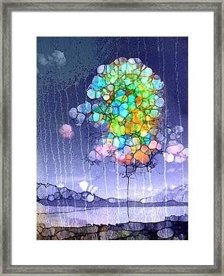 Here Comes The Rain Framed Print by Tara Turner