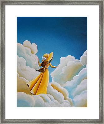 Here Comes The Sun Framed Print by Cindy Thornton
