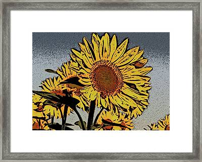 Here Comes The Sun Framed Print by David Bearden